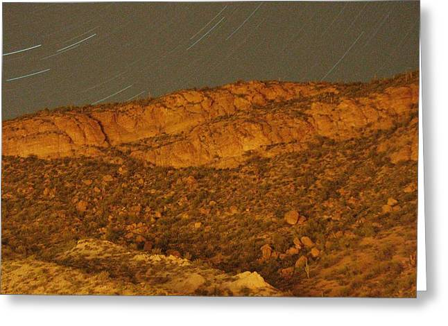 Mountain Trails Greeting Card by David S Reynolds