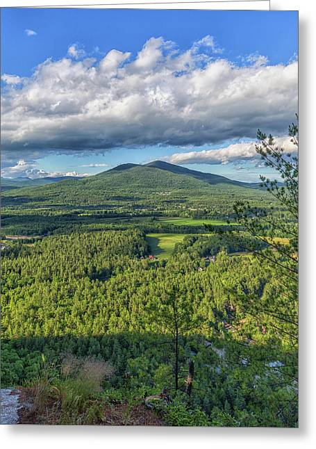Mountain View From Cathedral Ledge Greeting Card by Brian MacLean