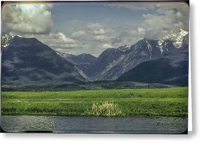 Mountain View Montana.... Greeting Card