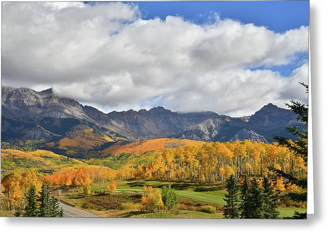 Mountain Village Telluride Greeting Card