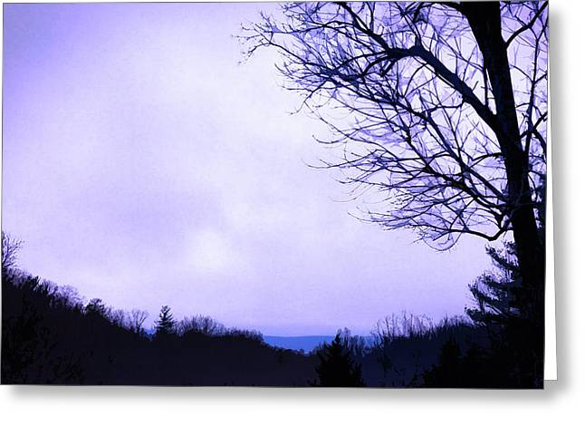 Mountain Vista Greeting Card