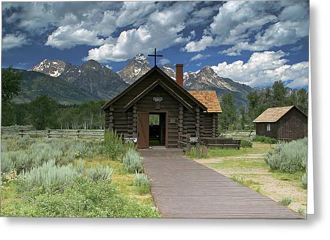 Mountain Worship Greeting Card