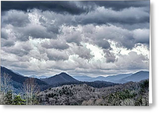 Greeting Card featuring the photograph Mountains 1 by Walt Foegelle