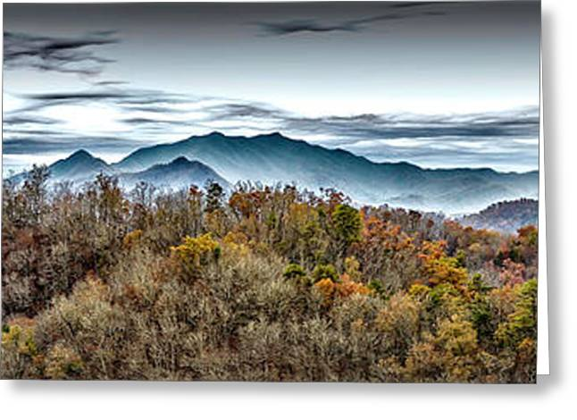 Greeting Card featuring the photograph Mountains 2 by Walt Foegelle
