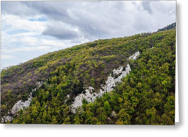 Mountains And Skies Greeting Card by Andrea Mazzocchetti