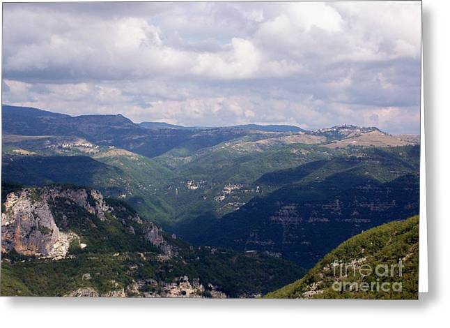 Greeting Card featuring the photograph Mountains Of Central Italy by Judy Kirouac