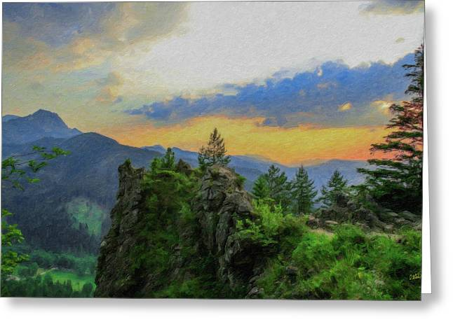 Mountains Tatry National Park - Pol1003778 Greeting Card