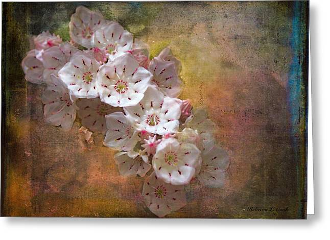 Mountain Laurel Greeting Card by Bellesouth Studio