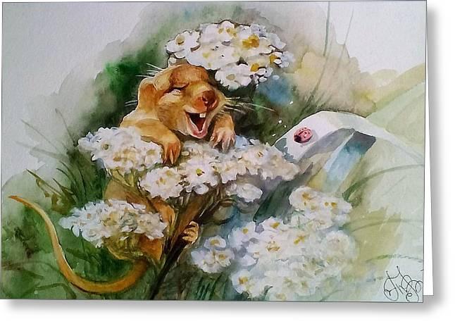 Mouse Fun Greeting Card