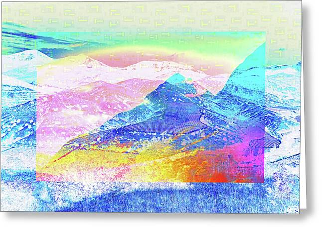 Move Mountain Greeting Card