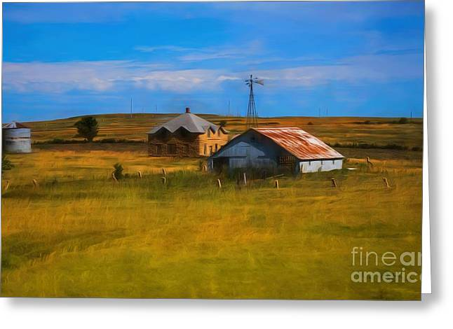 Moved To Town Greeting Card by Jon Burch Photography