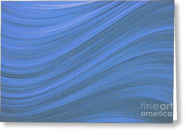 Movement In Waves Greeting Card