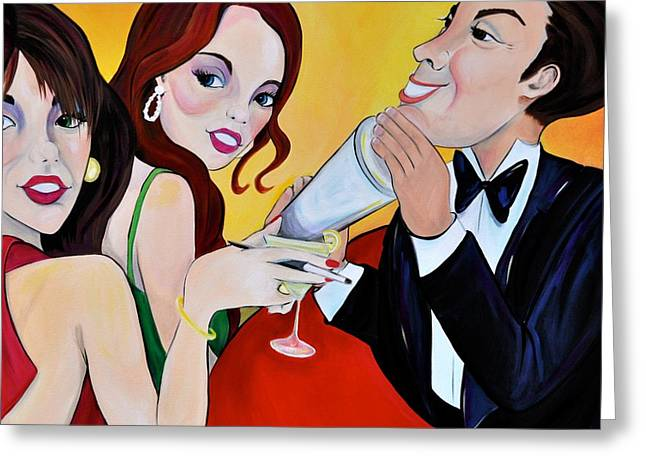 Movers And Shakers Greeting Card by Debi Starr