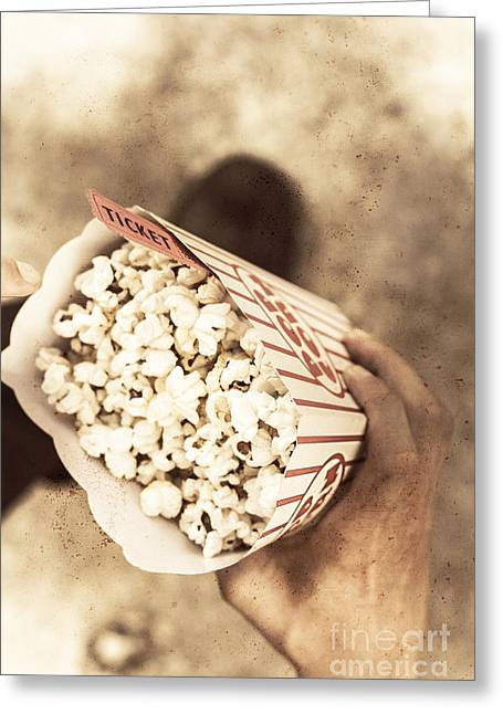 Movie Nostalgia Greeting Card by Jorgo Photography - Wall Art Gallery