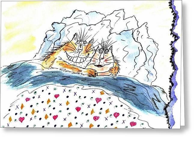 Mprints - Love Bugs Greeting Card