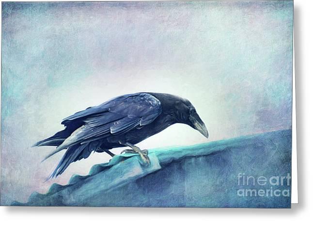 Mr. Bluebird Greeting Card