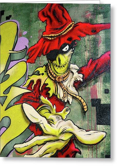 Mr. Graffiti Greeting Card