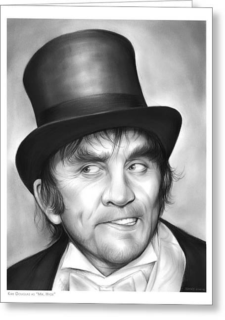 Mr Hyde Greeting Card by Greg Joens