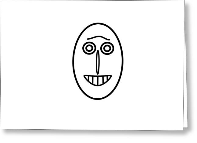 Mr Mf Has A Smile Greeting Card