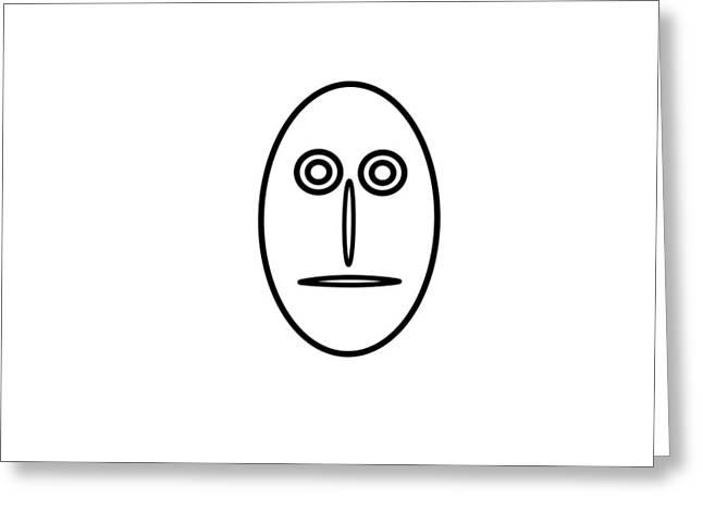 Mr Mf Is A Greenhorn Greeting Card