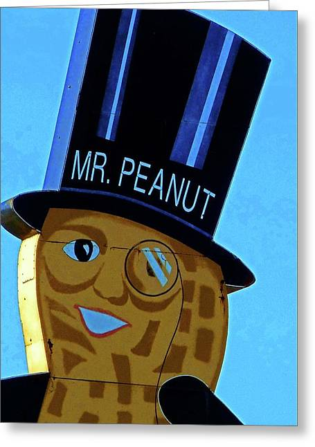 Mr Peanut 2 Greeting Card