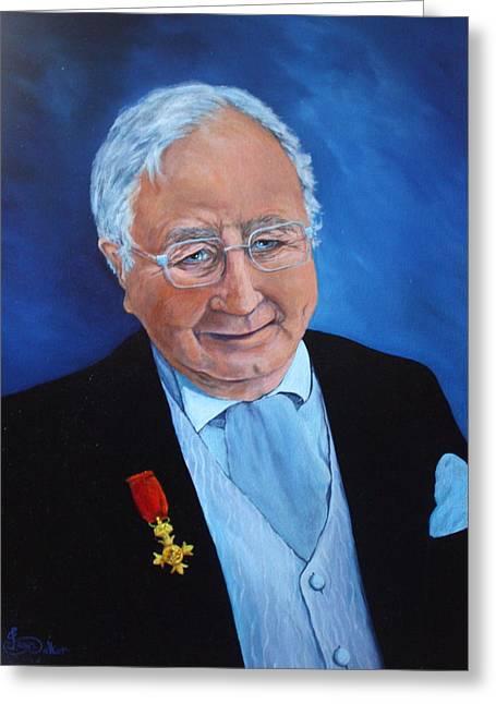 Councilor Mr Peritt Greeting Card by Jean Walker