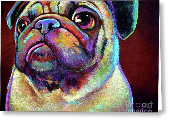 Mr. Pugnacious  Greeting Card