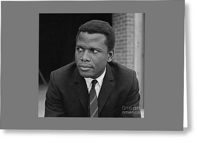 Mr. Sidney Poitier Greeting Card