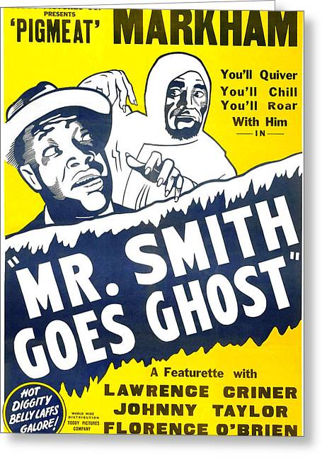 Mr Smith Goes Ghost 1939 Greeting Card