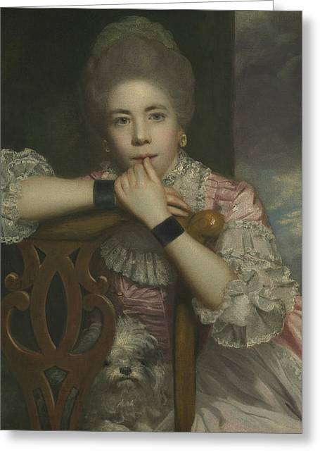 Mrs Abington As Miss Prue In Love For Love By William Congreve Greeting Card