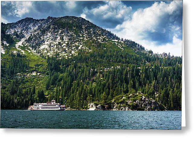 M.s. Dixie II, Lake Tahoe, Ca Greeting Card