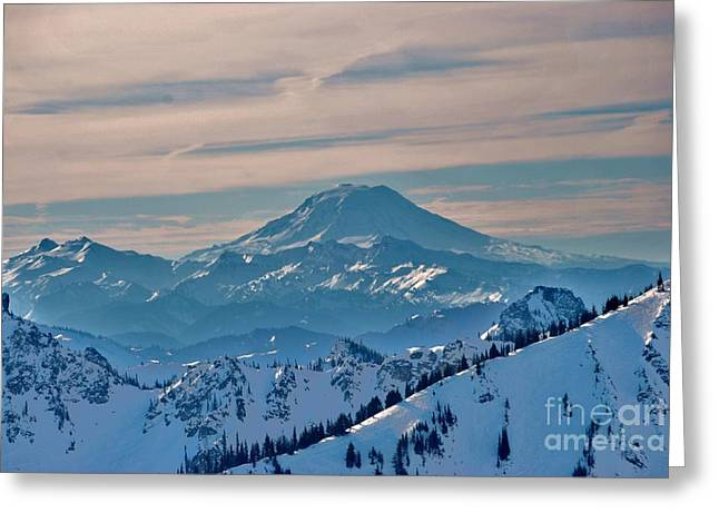 Mt Adams Greeting Card