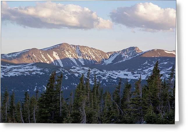 Mt. Audubon And Paiute Peak Greeting Card