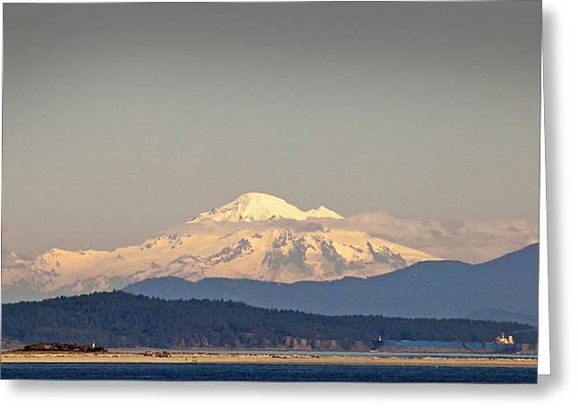 Mt Baker  Greeting Card by Klaus Bohn
