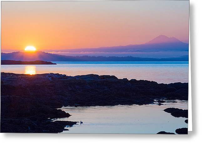 Mt. Baker Sunrise Greeting Card