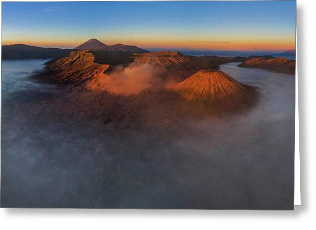 Mt Bromo Sunrise Greeting Card