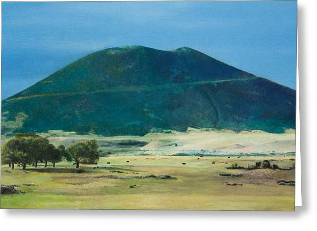 Mt. Capulin In Summer Greeting Card