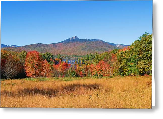 Mt. Chocorua Autumn 2 Horizontal Greeting Card by Larry Landolfi