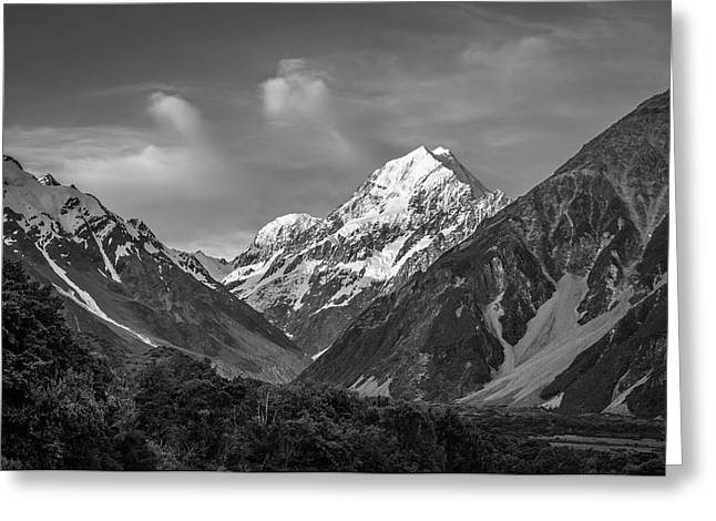 Mt Cook Wilderness Greeting Card