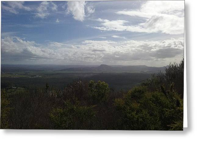 Mt Coolum Greeting Card