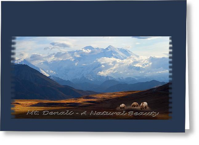 Mt. Denali National Park Greeting Card