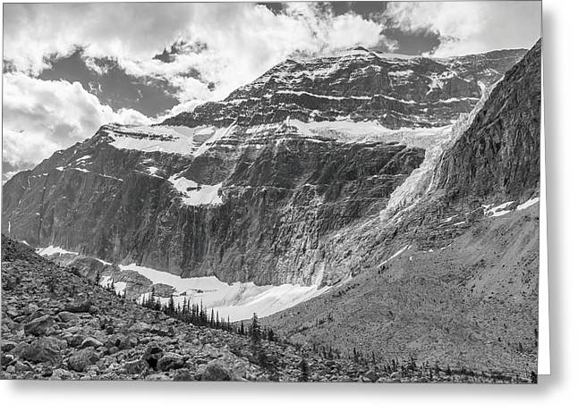 Mt. Edith Cavell Greeting Card