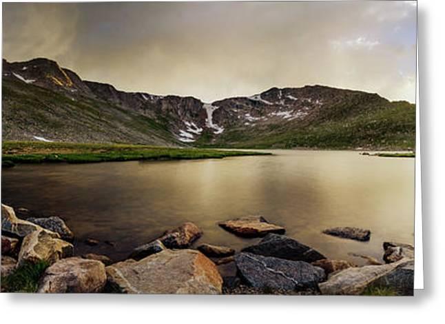 Mt. Evans Summit Lake Greeting Card