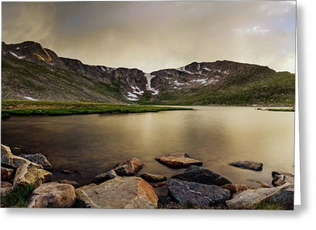 Mt. Evans Summit Lake Greeting Card