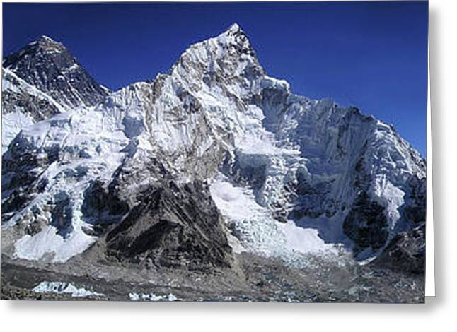 Mt Everest Zone Greeting Card by Daniel Hagerman