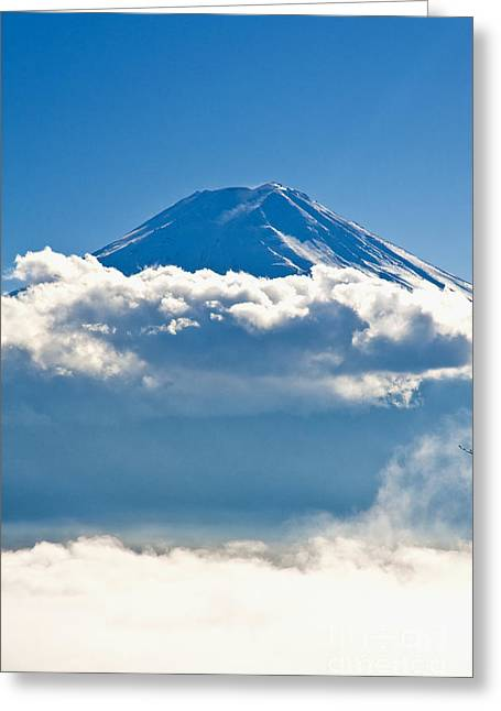 Mt. Fiji Greeting Card