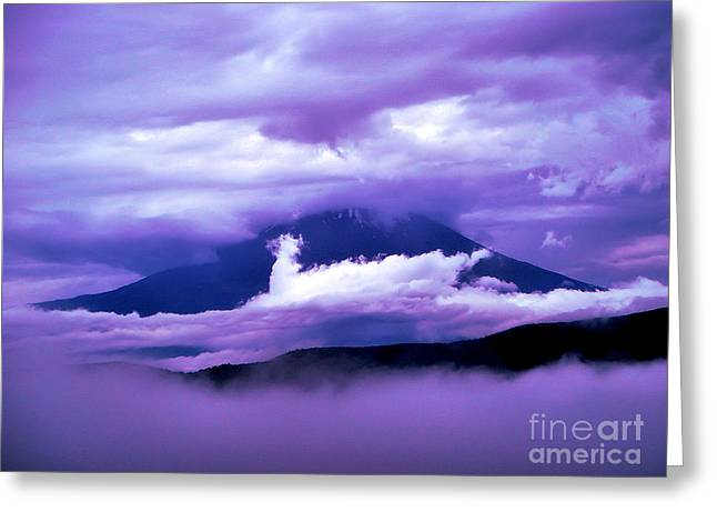 Mt Fuji Greeting Card