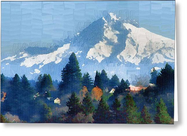 Mt. Hood  Greeting Card by Margaret Hood