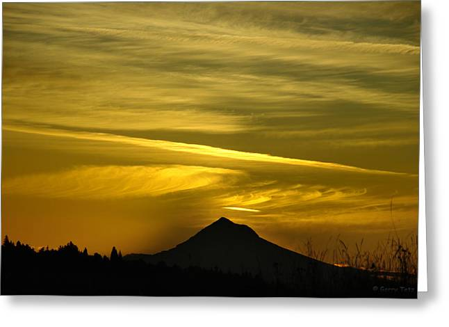 Mt. Hood Sunrise Greeting Card