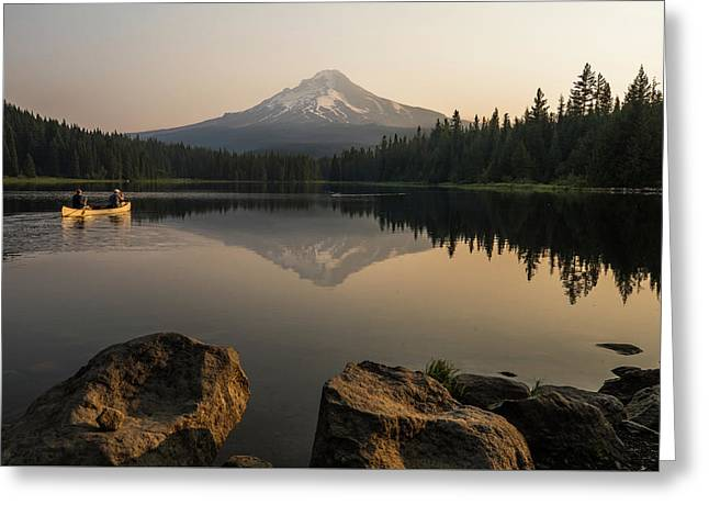 Mt Hood Sunrise  Greeting Card
